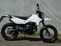 This is a 100% new Dual Sport.... 2013. Just got these