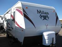 Check out this NEW 2013 Eclipse Milan Travel Trailer
