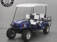 Brand name New 2013 E-Z-GO Express L6 Electric Six