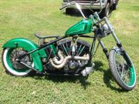 2013 Custom shovel head 96ci motor 5 speed trans 40