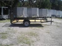 New 6x12 HD Utility Trailer (2013) 3500lb axle with 15""