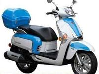 NEW 2013 KYMCO LIKE 200 LIMITED. BLUE &