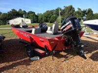 New 2013 Lowe 18 HP with 115hp Mercury Opti Max. 24volt