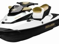 New 2013 Sea Doo GTX 215 White & Gold Personal