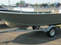 New Alaskan 13' boat and trailer, great little lake
