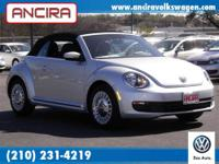 New Volkswagen Beetle Convertible now at Ancira