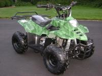 NEW 2013 COOLSTER YOUTH SPORT ATV:  110cc 4-stroke gas