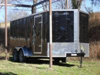 New 2014 7x16 Enclosed Trailer 5 year Service warranty