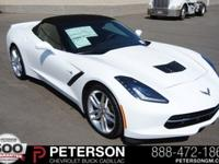 Body Style: Convertible Exterior Color: Arctic White