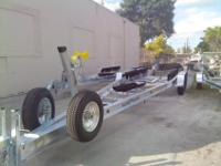 Sea Tech: Manufacturer of Custom ALuminum Boat Trailers