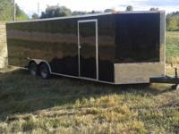 For sale is a brand new 2014 24 foot enclosed trailer.