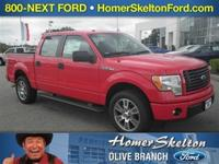 Body Style: Pickup Exterior Color: Race Red Interior
