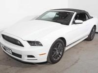 Body Style: Convertible Exterior Color: Oxford White
