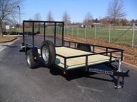 "* NEW 2014 GATORMADE TRAILER *. 6'4"" x 12ft UTILITY"