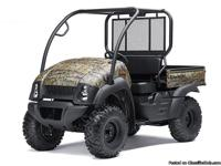 I have a great selection of 2014 Kawasaki Mule's in