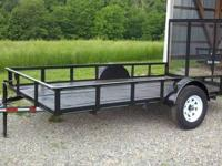 New 2014 Model 12ft Utility Trailer w/ 4ft Detachable
