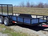 For Sale is a New 2014 Model 16ft Utility Trailer with