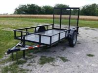 For Sale is a New 2014 Model 5 x 10 Utility Trailer w/