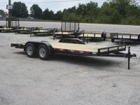 2015 - 18ft Flatbed ATV Utility Car Hauler Trailer with