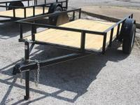 2015 - 5x10 ATV - Lawn Mower Utility Trailer with