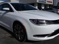 Body Style: Sedan Exterior Color: White Interior Color: