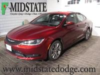 Body Style: Sedan Exterior Color: Velvet Red Pearlcoat
