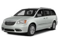 Body Style: Mini-Van Exterior Color: Bright White