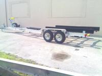 We build Custom Aluminum Boat Trailers with all