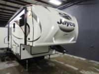 A fifth wheel that has three slides, the 2015 Jayco
