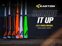 NEW 2015 Easton Baseball and Softball Bats.