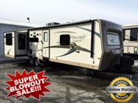 The Flagstaff Classic Super Lite 831RESS travel trailer