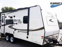 The Flagstaff 21FBRS Micro Lite travel trailer has a
