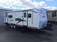 The Flagstaff Super Lite 26RLWS travel trailer by