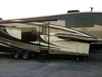 The Cardinal 3800FL fifth wheel by Forest River has a