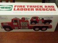 This is a brand new never opened 2015 Hess truck and