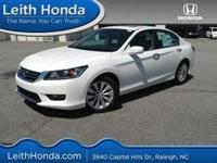 Body Style: Sedan Exterior Color: White Orchid Pearl