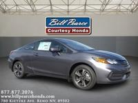 Body Style: Coupe Exterior Color: MODERN STEEL