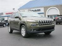 Body Style: SUV Exterior Color: Eco Green Pearlcoat