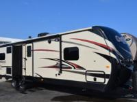 Step inside this Keystone Outback travel trailer model
