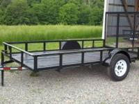 "New 2015 Model 12ft Utility Trailer it is 6ft 4"" wide"