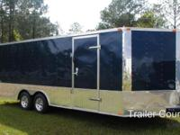 NEW 2015 8.5 x24 ENCLOSED CARHAULER/CARGO TRAILER Up