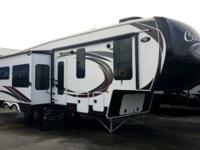 This rear bunkhouse Columbus fifth wheel 350BH by