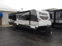 Step into the Puma 30-RKSS travel trailer by Palomino