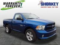Body Style: Pickup Exterior Color: Blue Streak