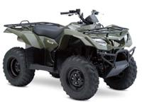 I currently have a New 2015 Suzuki King Quad 400 for