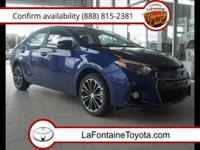 Body Style: Sedan Exterior Color: Blue Crush Metallic