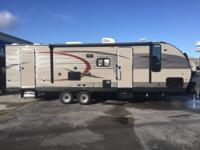 The Cherokee 274DBH travel trailer by Forest River