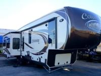 This rear living Columbus fifth wheel by Palomino has