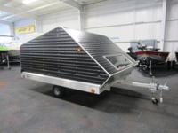 NEW 2016 R&R 10TC CAP ENCLOSED SNOWMOBILE TRAILER!