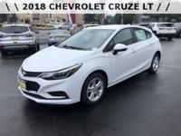 2018 Chevrolet Cruze LT 9-Speed Automatic FWD*** BILL